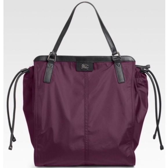 49f179bf98a6 Burberry Handbags - BURBERRY Buckleigh Nova Check Nylon Tote Bag